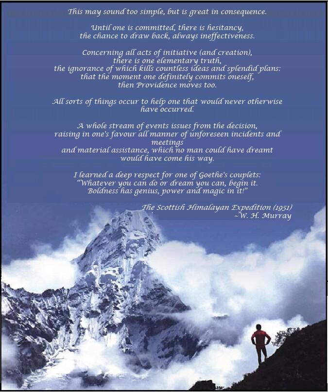 Commitment, Everest